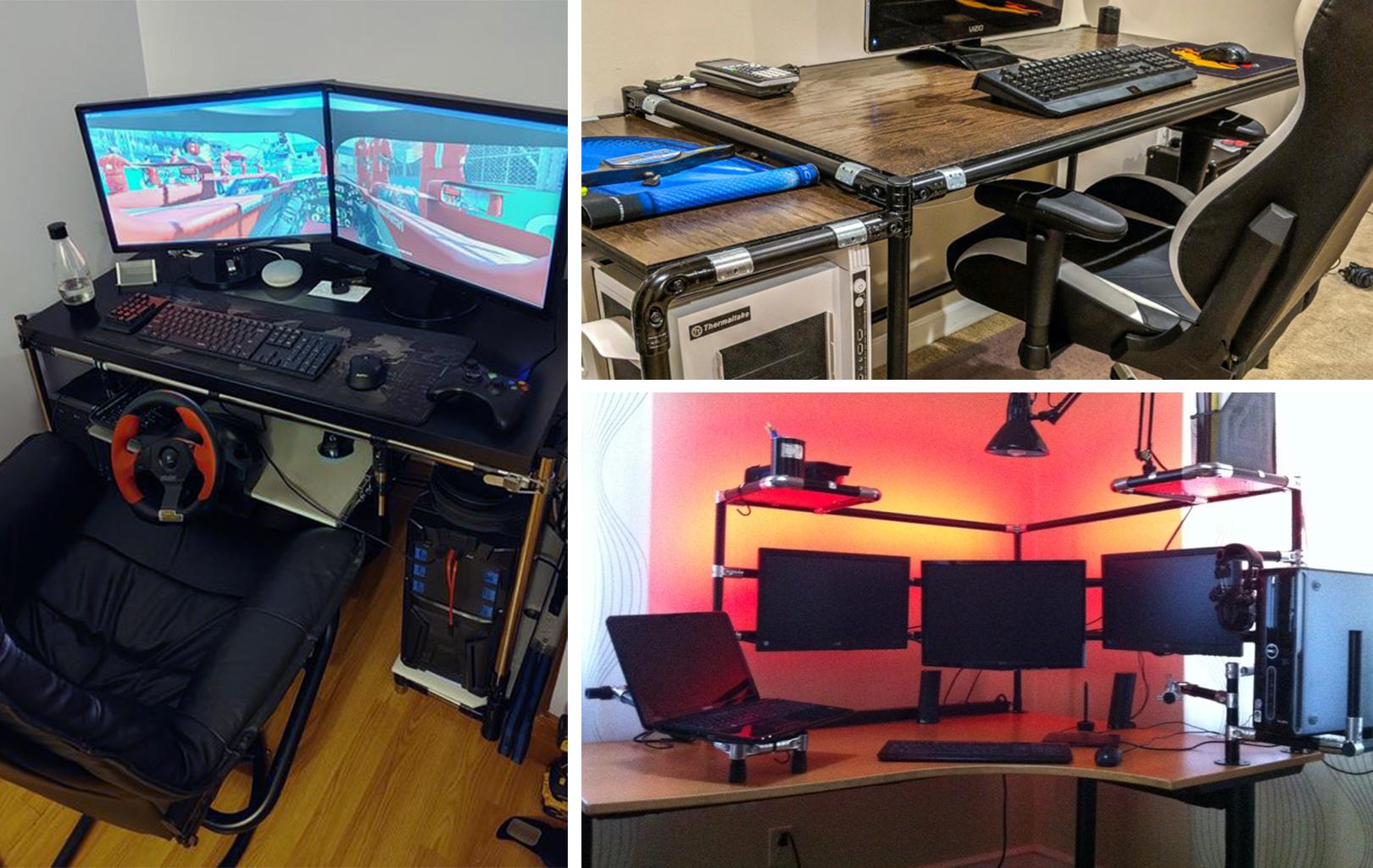 12 idées originales de bureaux d'ordinateur DIY   tinktube